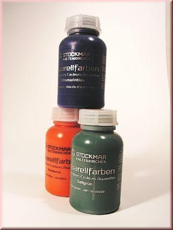 Stockmar: Aquarellfarben, Pinsel, Knetbienenwachs, Buntstifte
