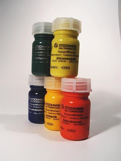 Stockmar Aquarell- und Farbkreisfarben 50ml