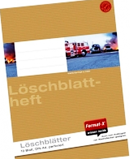 Format-X Löschblattheft A4