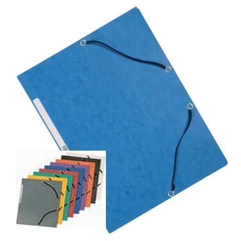 Eckspanner A4 aus Karton mit Gummizug für 200 Blatt
