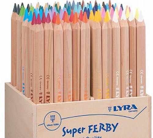 Lyra Super FERBY, naturbelassen, Einzelstifte
