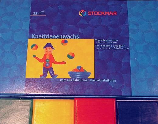 Stockmar Knetbienenwachs 6 Tafeln sortiert