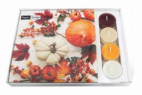 Servietten mit Teelicht Herbst PAPER+DESIGN