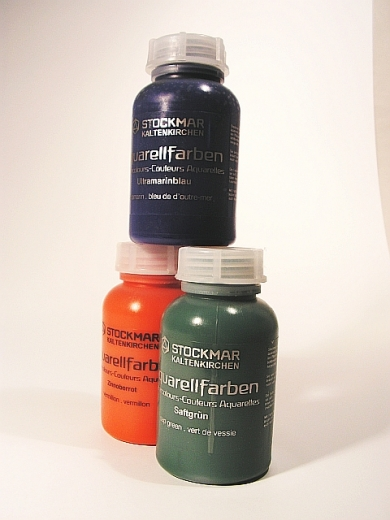 Stockmar Aquarell- und Farbkreisfarben 250ml