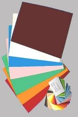 Tonkarton 160g - 43 x 61cm/ Farbauswahl · Einzelfarben