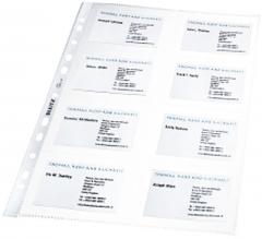 Leitz Visitenkarten-Prospekthülle 100 Stück