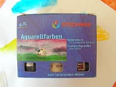Aquarellfarben Ergänzungs-Sortiment 6 x 20 ml