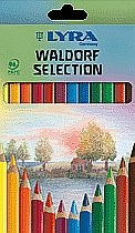 Lyra Waldorfselection, lackiert -12 Stifte