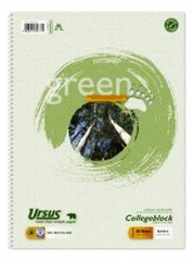Ursus Collegeblock 60g A4 - recycling kariert