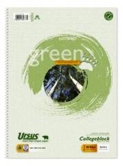 Ursus Collegeblock 60g A4 - recycling liniert