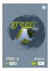 Briefblock  Green, A4 liniert recycling