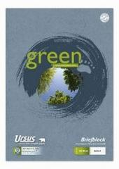Briefblock  Green, A4 kariert recycling