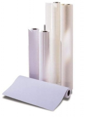 1. Rolle Plotterpapier - 610 mm x 50 m, 80 g/qm, Kern-Ø 5,08 cm