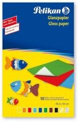 Pelikan Transparentpapier 10 Farben/ 10 Blatt