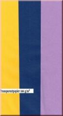 Transparentpapier A4 100g lila, gelb, indigo