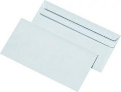 1000 Stück · Briefumschläge DIN lang, ohne Fenster, selbstklebend,