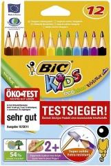 BiC® Buntstiftetui Kids extra dick - 12-farbig sortiert