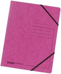 Eckspanner A4 Colorspan -  Karton 355 g/qm - Gummizug · für 250 Blatt