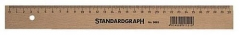 Standardgraph Holzlineale, 30 cm