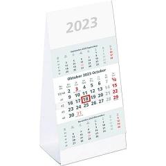 Zettler 3-Monats-Tischkalender 2022 ·  980 - 9,5 x 19,5 cm, 3 Monate / 1 Seite