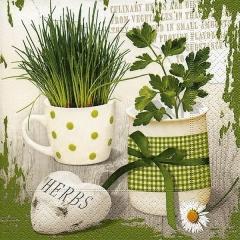 Servietten Design Herbary · 33 x 33 cm · 20 Stück