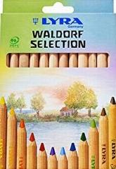 Lyra Waldorfselection, naturbelassen -12 Stifte