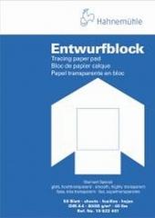 Transparentpapierblock 80/85g/qm 50 Blatt